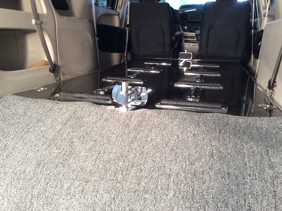 2017 Chrysler Pacifica Hearse Table