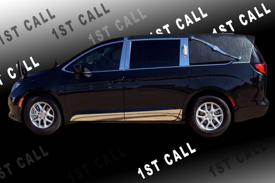 Black 2017 Chrysler Pacifica Hearse