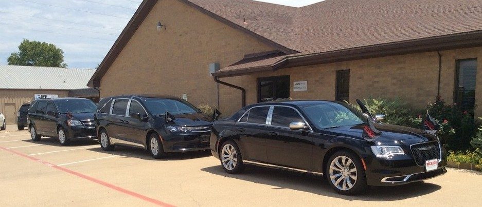 Black Funeral Vehicles
